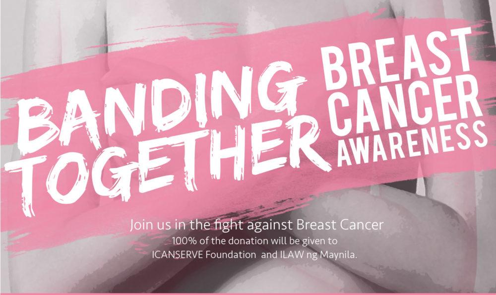 Breast Cancer Awareness Month: #BandingTogether
