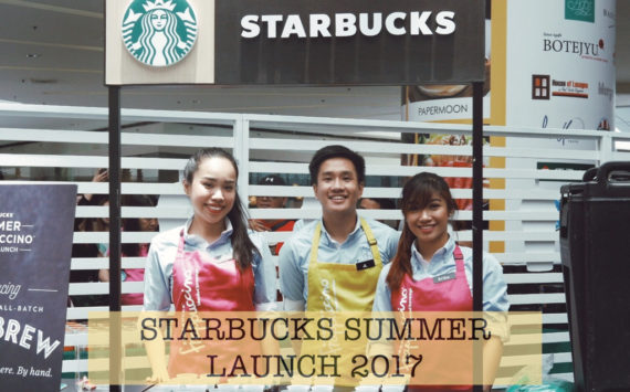 Starbucks Summer Launch: Enjoy this Season the Starbucks Way